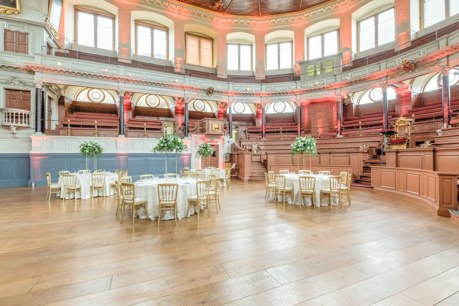 sheldonian theatre dining