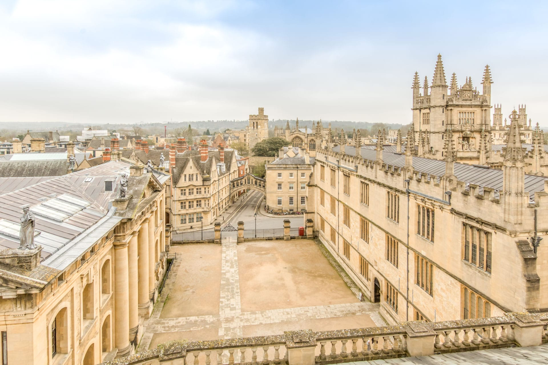 oxford from the sheldonian theatre